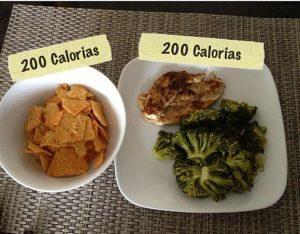 sumar calorias